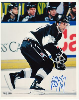 Paul Coffey autographed Los Angeles Kings 8x10 photo (UDA)
