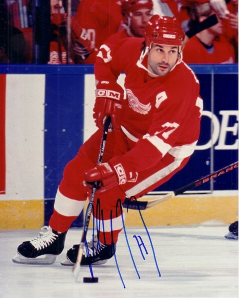 Paul Coffey autographed Detroit Red Wings 8x10 photo