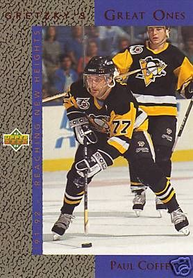 Paul Coffey Penguins 1993-94 Upper Deck Gretzky's Great Ones insert card #GG6