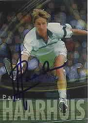 Paul Haarhuis autographed 2000 ATP Tour tennis card