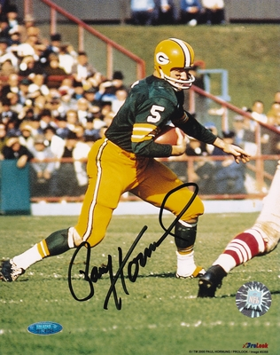 Paul Hornung autographed Green Bay Packers 8x10 photo (TriStar)