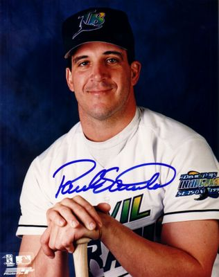 Paul Sorrento autographed Tampa Bay Devil Rays 8x10 photo