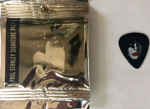 Paul Stanley KISS signature guitar pick (NEW AND SEALED)