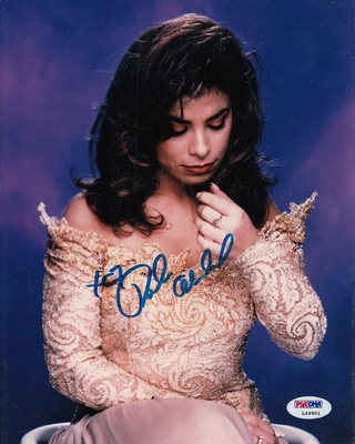 Paula Abdul autographed vintage 8x10 photo PSA/DNA