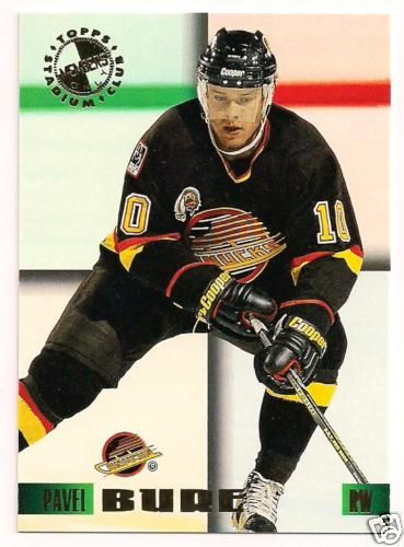Pavel Bure 1995 Stadium Club Members Only card