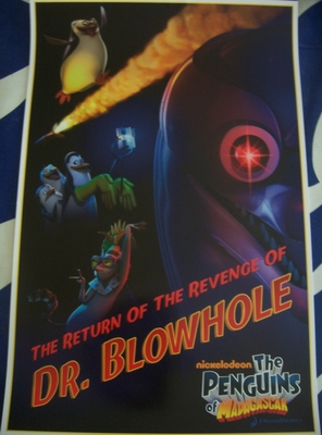 Penguins of Madagascar 2011 Comic-Con promo poster