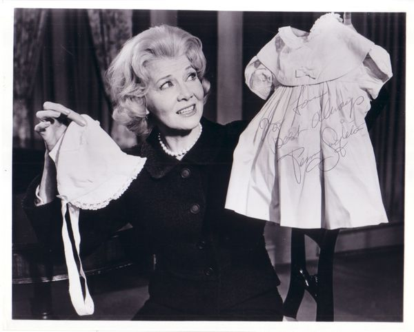 Penny Singleton autographed Blondie 8x10 movie photo (personalized) JSA