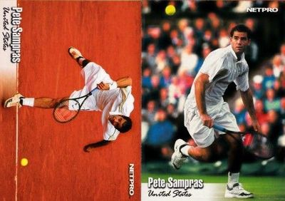 Pete Sampras set of 2 2003 NetPro cards