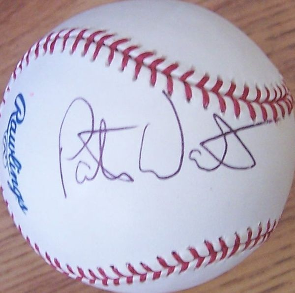 Peter Ueberroth autographed MLB baseball