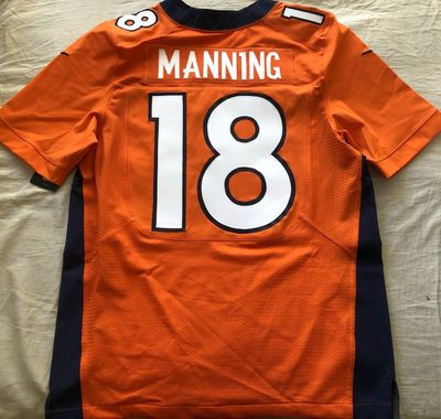 Peyton Manning Denver Broncos 2012 authentic Nike orange game model jersey NEW WITH TAGS