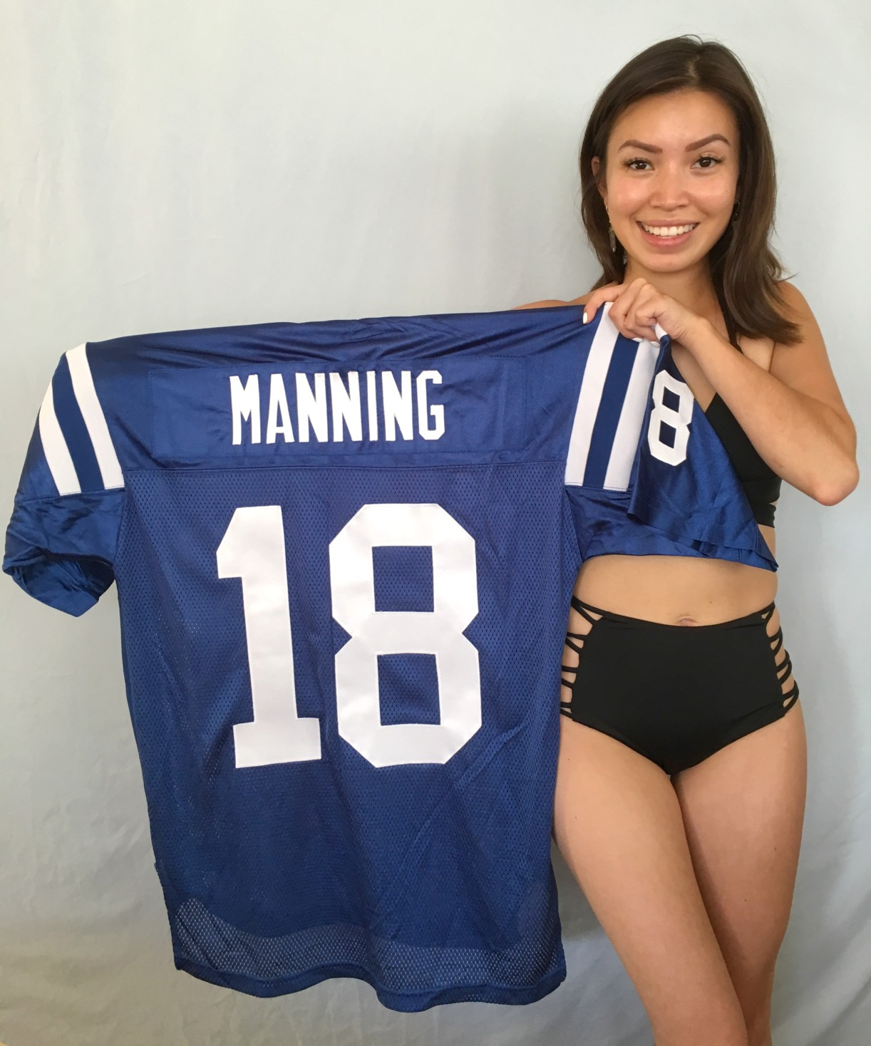 on sale b0b20 c1bfe Peyton Manning Indianapolis Colts authentic Reebok stitched ...