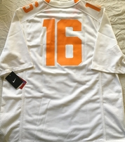 Peyton Manning Tennessee Volunteers authentic Nike replica #16 LARGE jersey NEW WITH TAGS