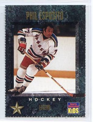 Phil Esposito Rangers 1994 Sports Illustrated for Kids card #317