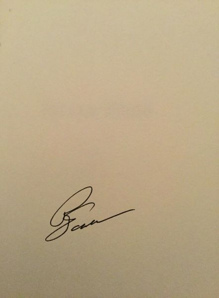 Phil Jackson autographed Eleven Rings first edition hardcover book