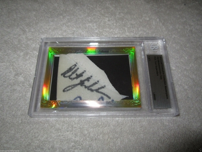 Phil Mickelson and John Daly 2014 Leaf Masterpiece Cut Signature certified autograph card 1/1 JSA