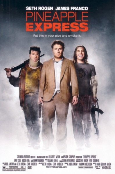 Pineapple Express movie 4x6 promo card