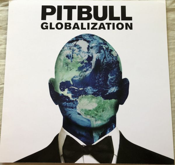 Pitbull Globalization 12 by 12 inch heavy paper promotional poster