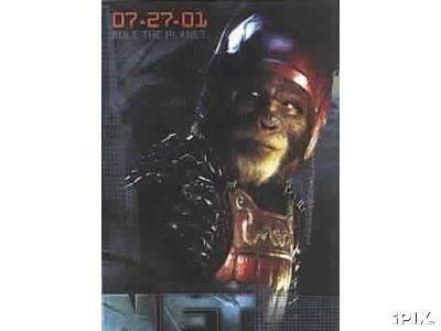 Planet of the Apes movie 2001 Topps promo card 2