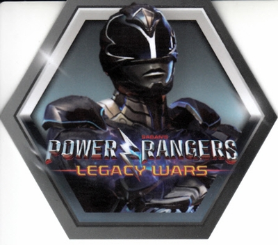 Power Rangers Legacy Wars 2017 Comic-Con app code hexagonal plastic game card