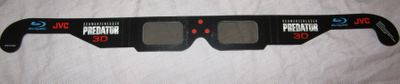 Predator 3D movie 2013 Comic-Con exclusive promo cardboard glasses MINT