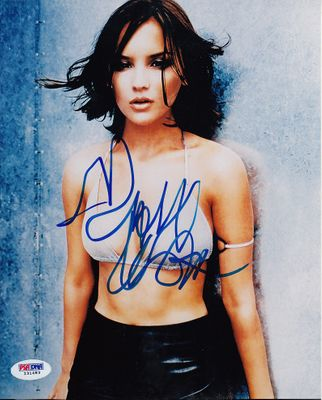 Rachael Leigh Cook autographed sexy 8x10 bikini photo PSA/DNA