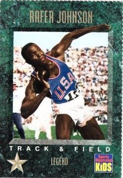 Rafer Johnson 1994 Sports Illustrated for Kids card