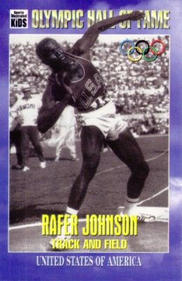 Rafer Johnson Olympic Hall of Fame Sports Illustrated for Kids card
