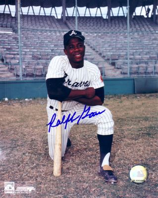 Ralph Garr autographed Atlanta Braves 8x10 photo