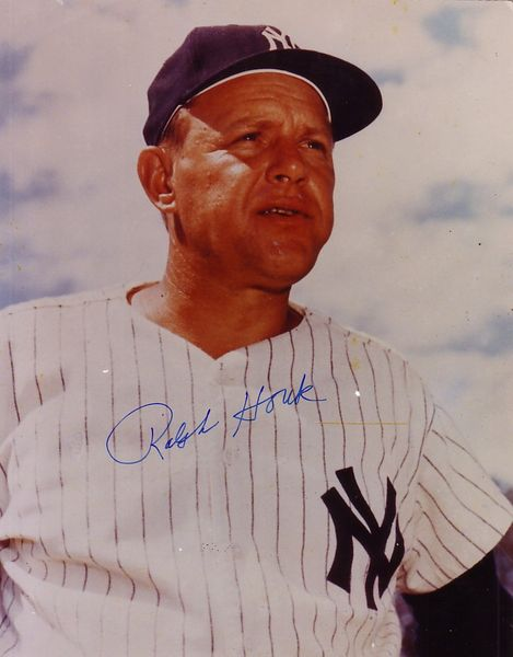 Ralph Houk autographed New York Yankees 8x10 photo