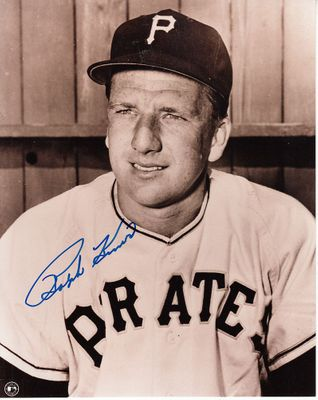 Ralph Kiner autographed Pittsburgh Pirates 8x10 photo