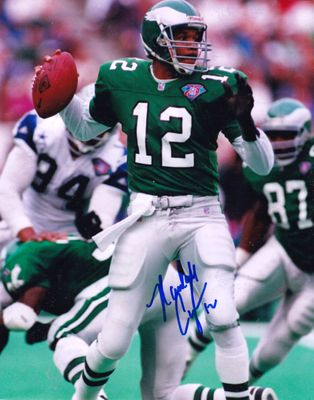 Randall Cunningham autographed Philadelphia Eagles 8x10 photo
