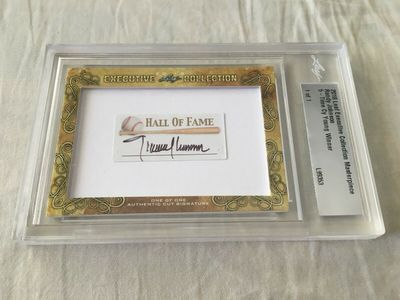 Randy Johnson 2018 Leaf Masterpiece Cut Signature certified autograph card 1/1 JSA