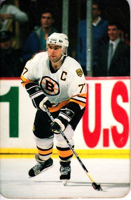 Ray Bourque Boston Bruins photo 1993-94 fridge magnet