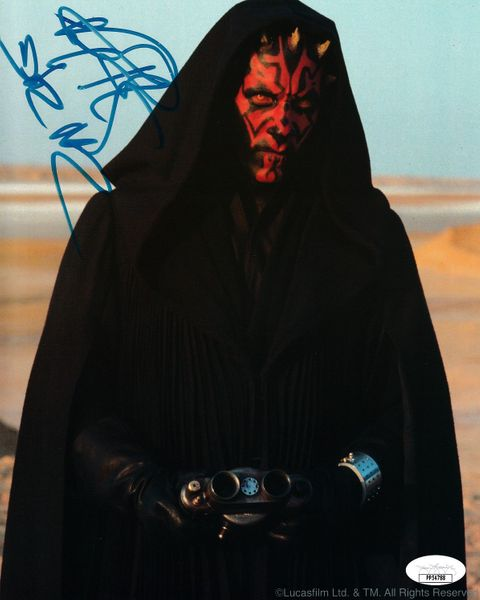 Ray Park autographed Star Wars Episode I 8x10 movie photo inscribed Darth Maul (JSA)