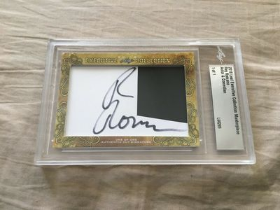 Ray Romano 2018 Leaf Masterpiece Cut Signature certified autograph card 1/1 JSA