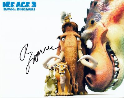 Ray Romano autographed Ice Age 3 8x10 movie photo