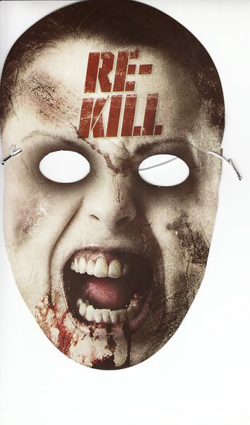Re-Kill movie 2014 Comic-Con promo mask