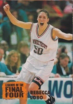 Rebecca Lobo UConn Huskies 1996 Classic Legends of the Final Four card