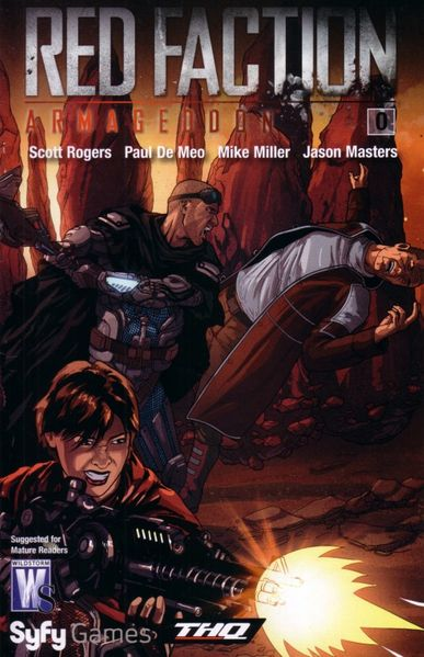 Red Faction Armageddon promo comic book issue #0