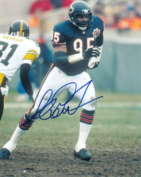 Richard Dent autographed Chicago Bears 8x10 photo