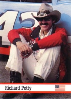 Richard Petty 1993 Fax Pax card