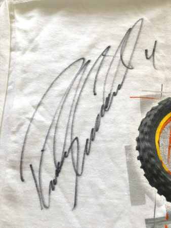 Ricky Carmichael autographed motocross or supercross T-shirt