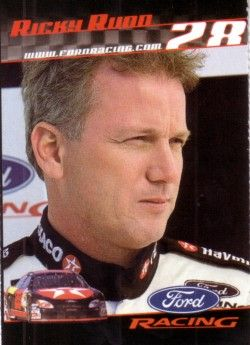 Ricky Rudd 2001 Ford Racing Sports Illustrated for Kids card