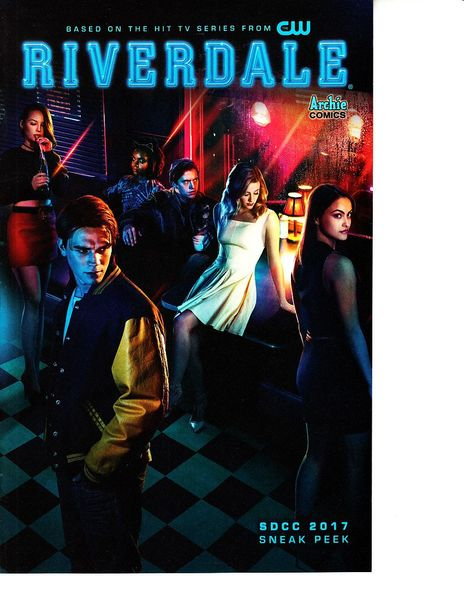 Riverdale 2017 San Diego Comic-Con sneak peek comic book
