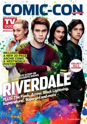 Riverdale 2017 Comic-Con TV Guide magazine
