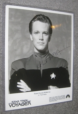 Robert McNeill autographed Star Trek Voyager 8x10 photo