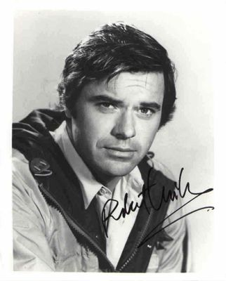 Robert Urich autographed 8x10 black & white photo