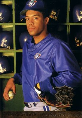 Roberto Alomar 1994 Upper Deck All-Star Game jumbo card