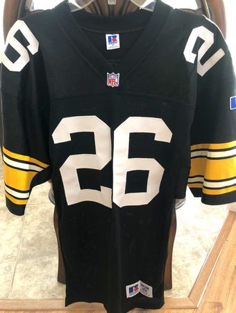 Rod Woodson Pittsburgh Steelers 1991 authentic Russell Athletic stitched black jersey