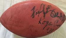 Jerry Rice Roger Craig Fred Dean Charles Haley Dwight Hicks Keena Turner autographed NFL game model football